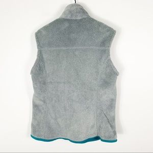 Patagonia Jackets & Coats - Patagonia women's re tool fleece vest gray blue